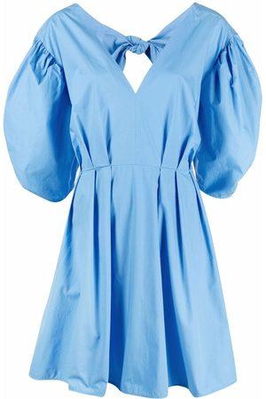 Msgm Mujer Vestidos - Vestido con lazo en la cintura