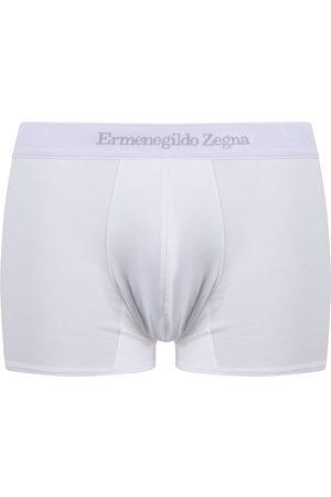 Ermenegildo Zegna Hombre Boxers y trusas - Bóxer con logo en la pretina