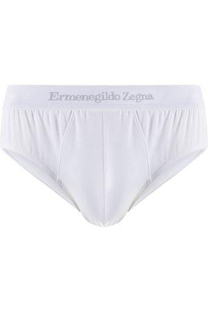 Ermenegildo Zegna Hombre Calcetines - Ropa interior con logo en la pretina