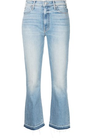 Mother Mujer Jeans - Jeans con tiro medio
