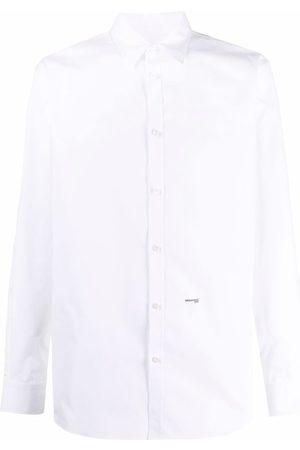 Dsquared2 Camisa con logo bordado