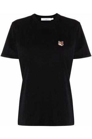 Maison Kitsuné Camiseta con aplique Fox