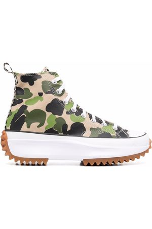 Converse Hombre Tenis - Camouflage-print All Star trainers