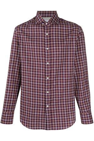 Brunello Cucinelli Hombre Camisas - Camisa a cuadros