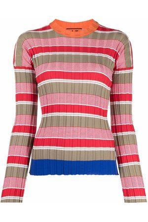 Colville Suéter tejido de canalé con motivo de rayas