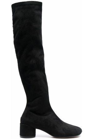 MM6 MAISON MARGIELA Botas altas con tacón de 55mm