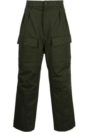 Maison Kitsuné Pantalones cargo rectos