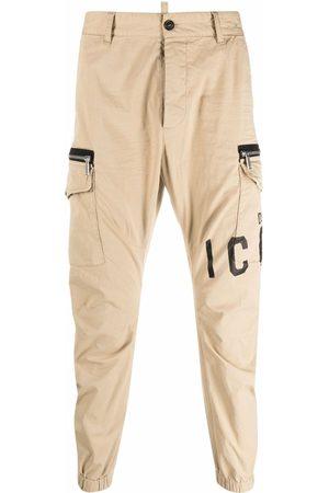 Dsquared2 Pantalones ajustados con estampado Icon