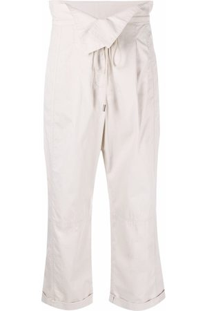 Dorothee Schumacher Sporty Power folded-waist trousers