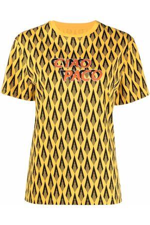 Paco rabanne Camiseta con estampado Ciao Paco