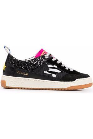 Golden Goose Yeah zebra-print sneakers