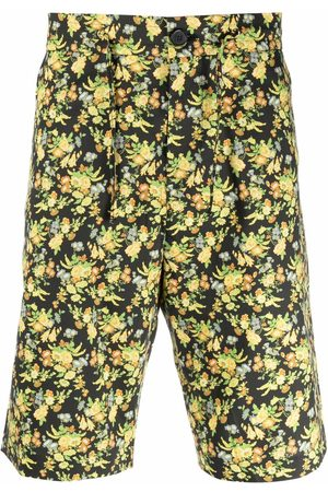 Paul Smith Floral-print lyocell-blend shorts