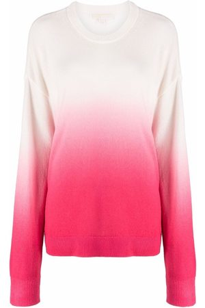 Michael Kors Mujer Suéteres - Suéter tejido de cachemira con motivo tie-dye