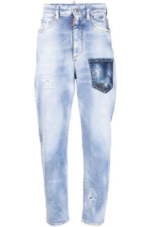 Dsquared2 Mujer Jeans - Jeans con efecto envejecido