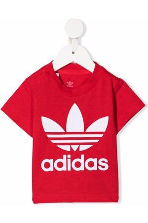 adidas Playeras - Logo-print short-sleeved T-shirt