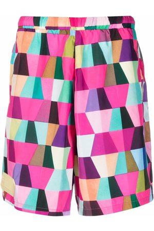 Formy Studio Hombre Bermudas - Geometric-print shorts