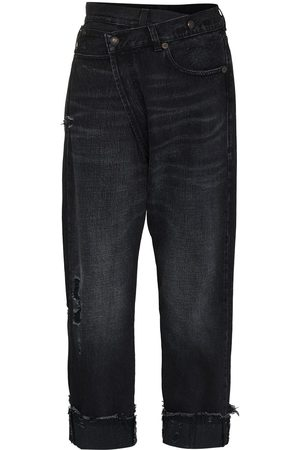 R13 Mujer Rectos - Crossover waistband jeans