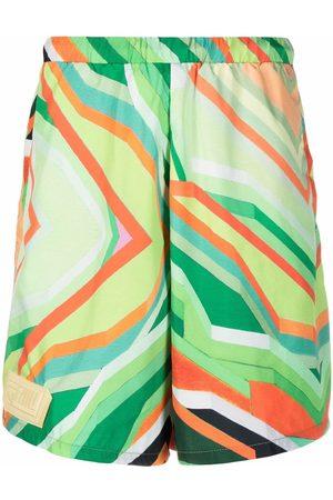 Formy Studio Hombre Bermudas - Abstract-print shorts