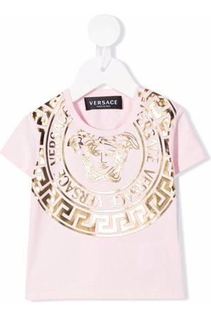 VERSACE Camiseta con estampado de cabeza de Medusa
