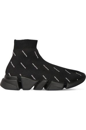 """Balenciaga Mujer Tenis - Sneakers """"speed"""" De Punto 30mm"""