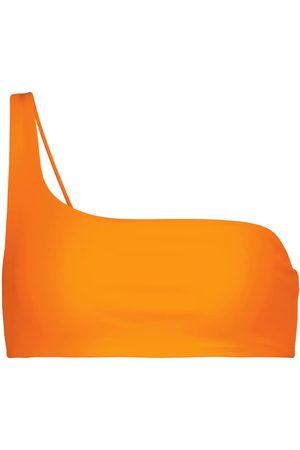 Jade Swim Mujer Bikinis - Apex one-shoulder bikini top