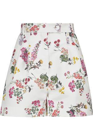 EMILIA WICKSTEAD Mujer Estampados - Elliot floral taffeta faille shorts