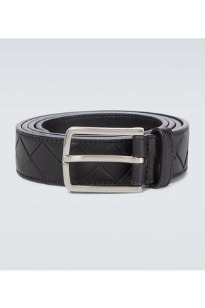 Bottega Veneta Hombre Cinturones - Intrecciato leather belt