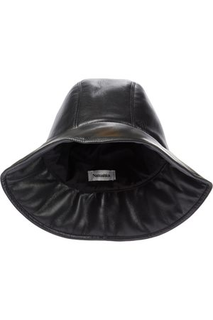 Nanushka Mujer Sombreros - Cameron faux leather bucket hat