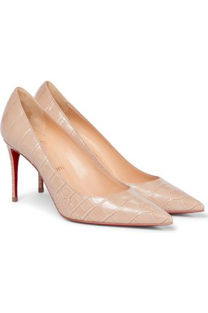 Christian Louboutin Mujer Pumps - Kate 85 croc-effect leather pumps