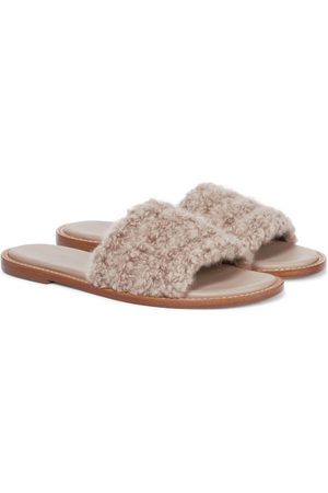GABRIELA HEARST Ballast shearling sandals