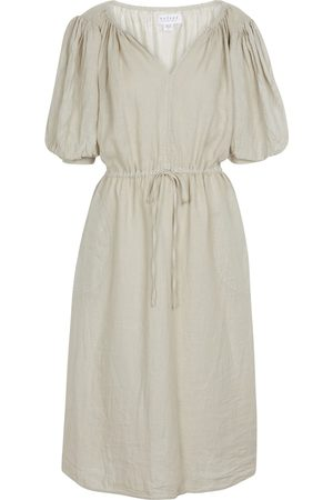 Velvet Mujer De playa - Susannah linen midi dress