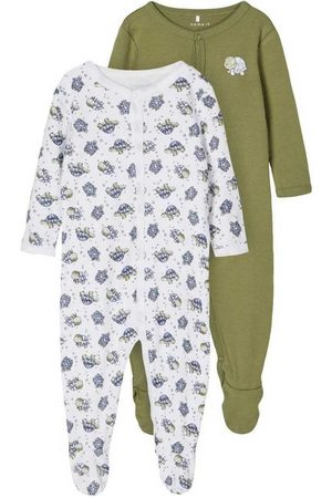 NAME IT Night Suit W/f 2 Pack 68 cm Loden Green