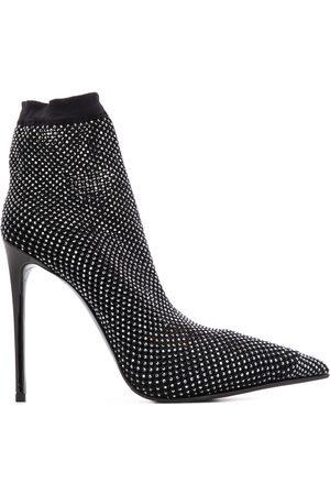 LE SILLA Mujer Botas y Botines - Botas estilo calcetín con tacón de 115 mm y apliques