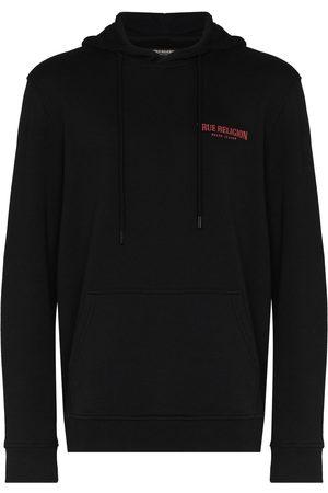 True Religion Hombre Con capucha - Hoodie con logo estampado