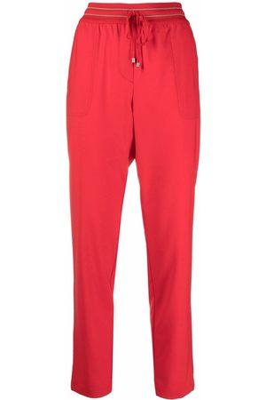 LORENA ANTONIAZZI Mujer Pantalones y Leggings - Pantalones con cintura en contraste