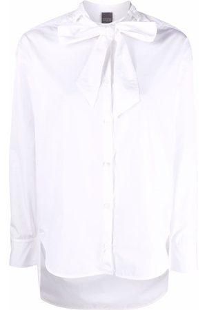 LORENA ANTONIAZZI Mujer Camisas - Camisa con cuello y lazo