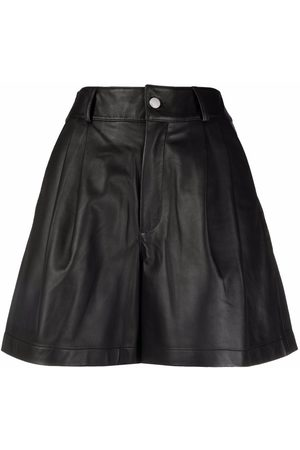 RED Valentino Tailored-finish pleat-detail shorts