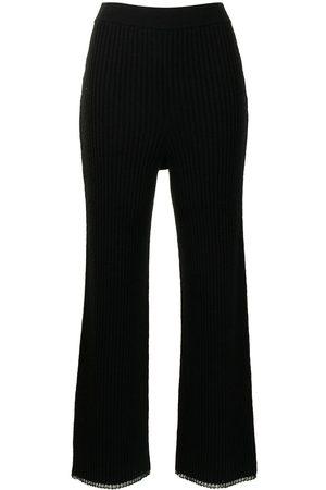 PROENZA SCHOULER WHITE LABEL Pantalones tejidos de canalé
