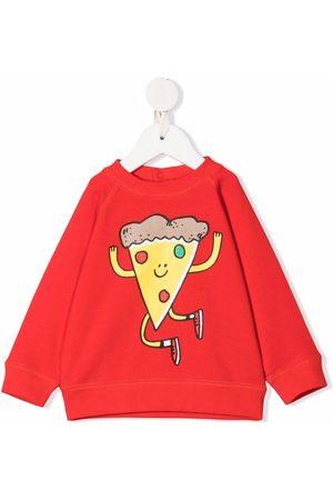 Stella McCartney Sudaderas - Sudadera con estampado de pizza