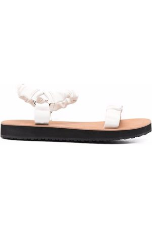 12 STOREEZ Mujer Sandalias - Ruched leather 20mm sandals