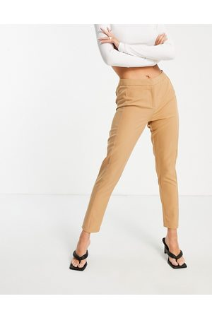 Unique 21 Tailored trousers in camel co