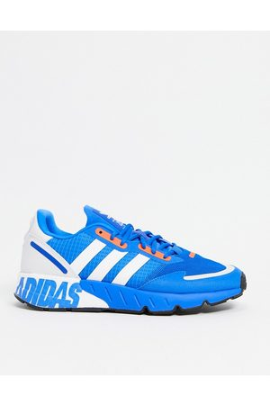adidas ZX 1K Boost trainers in blue