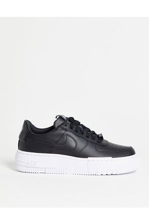 Nike Air Force Pixel in black and white