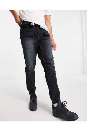 ASOS ASOS Dark Future slim utility trousers