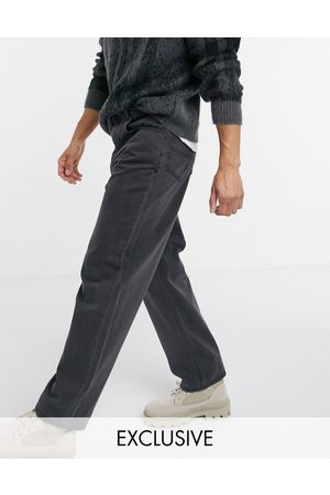 Reclaimed Hombre Rectos - Inspired 90's baggy jean in washed black
