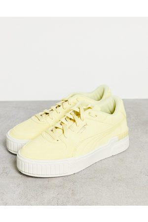 PUMA Mujer Tenis - Cali Sport trainers in yellow
