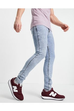 Aeropostale Super skinny fit jeans in light wash blue