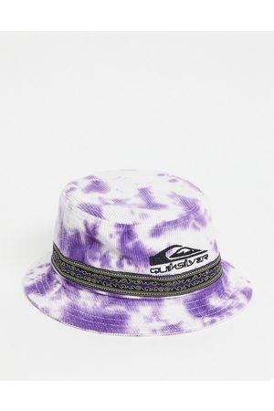 Quiksilver OG cord tie dye bucket hat in purple