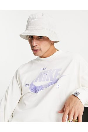 Nike Washed bucket hat in sand