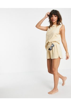 4th & Reckless Mujer Shorts - Towelled short co